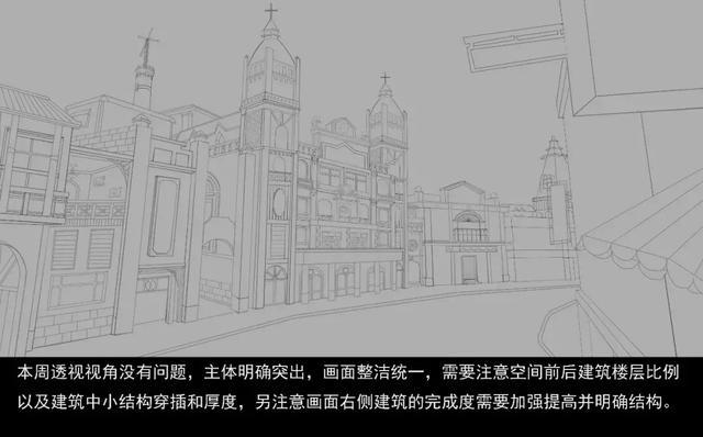 陈星蓉街道线稿图