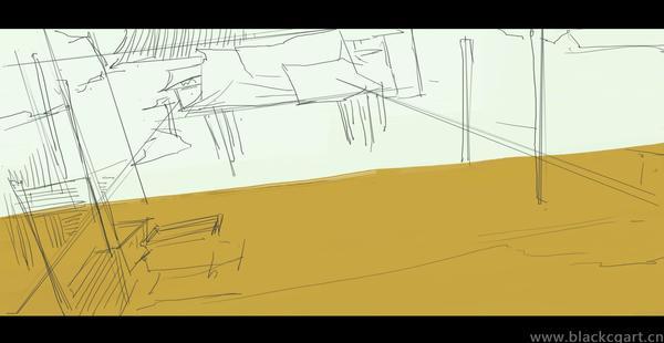 黑焰电影概念原画设计教程武侠题材郑元浩